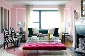 pink velvet tufted bench contemporary living room vogue living room bench seating ideas