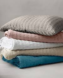 eileen fisher rippled organic cotton coverlet and shams for mom