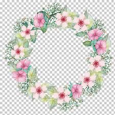 White Paper Flower Garland Paper Flower Bouquet Wreath Garland White And Pink Petaled Flowers