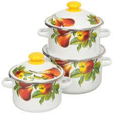 <b>Набор эмалированной посуды Сибирские</b> товары Дары лета 15 ...