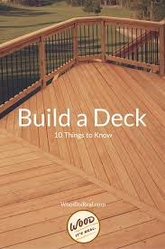 eco friendly diy deck. Eco Friendly Diy Deck. 10 Things To Do When Building A Read Deck D