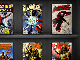 comic book shelf