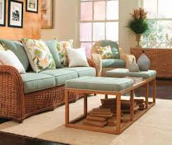 Rattan Living Room Chairs Contemporary Living Room Set