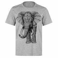 Karma Elephant Ganesh Tattoo High Quality Unisex Ph64 Grey T Shirtfunny Free Shipping Unisex Casual Tshirt Top