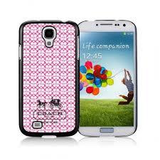 Coach In Confetti Signature Pink Samsung Galaxy S4 9500 AJU