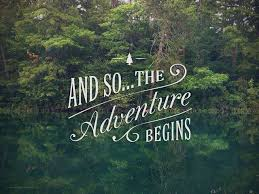 Quotes On Adventure Gorgeous And So The Adventure Begins Picture Quotes