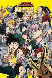 Height Chart My Hero Academia My Hero Academia Class 1 A Characters Tv Tropes