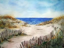beach s print of original watercolor painting beach art watercolor art watercolor print beach painting watercolor beach sand dunes