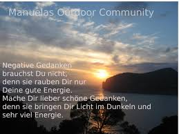 Energie Spruch Sonnenuntergang Mallorca Outdoor Community