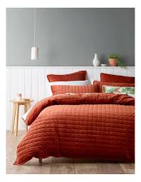 vue tanami quilted quilt cover set in