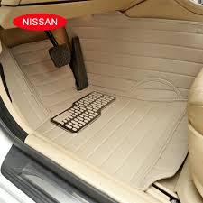 2018 case for nissan x trail qashqai tiida teana murano livian sylphys etc customized car floor mats carpets waterproof 3d leather mats from joeylau668