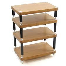 atacama evoque eco 60 40 medium bamboo black 4 shelf hi
