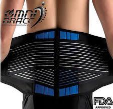 NEOPRENE DELUXE BELT DOUBLE PULL Lumbar Lower Back Support Brace-Size 2XL-6XL Belt | eBay