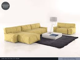 Living room furniture sets 2014 Fabric Living Room Furniture Set 3d Model Basement Ideas Living Room Furniture Set 3d Model In Sofa 3dexport
