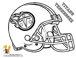 Small Picture Nfl Football Helmets Coloring Pages Titans Gekimoe 6434