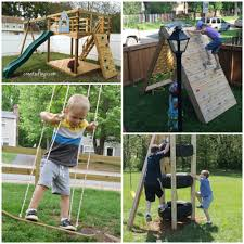 outdoor projects for kids make a tire climbing