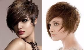 účesy Asymetrie Na Střední Asymetrické účesy Pro Krátké Vlasy