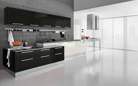 White Marble Floor Kitchen Red Cabinetry With White Marble Flooring Tile Also Drawers And