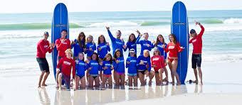Teen summer surf camps