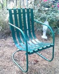 retro metal outdoor furniture. Delighful Furniture Retro Patio Chair Metal Lawn Chairs Furniture Slat  Bouncers Vintage Inside Retro Metal Outdoor Furniture