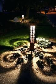 interesting lighting. Driveway Light Interesting Lighting Swirls X Bollard By With Ideas Solar Lamps I