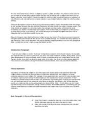 comparison contrast essay the revolutionary war vs the civil war  2 pages descriptive essay lesson 3