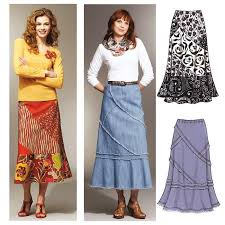 Skirt Patterns Unique Kwik Sew Misses Patchy Skirts Pattern Discount Designer Fabric