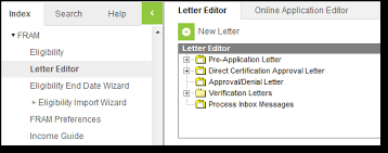 Fram Letter Editor Infinite Campus