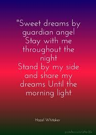 Angel Love Quotes Impressive Sweet Love Quotes For Her Beautiful Sweet Dreams My Angel Quotes