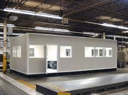 prefab office space. Modular In-plant Office - Single Story Prefab Space