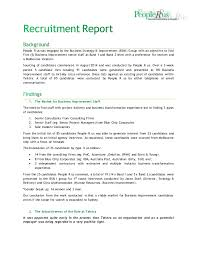 Recruitment Strategy Unique Recruitment Report People R Us
