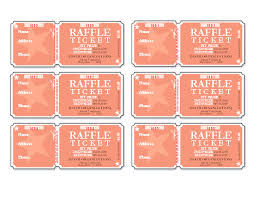 Microsoft Office Templates Tickets Extraordinary Raffle Tickets 48 Per Page Templates Office Fesitval