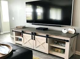 sliding barn door tv stand canada custom with doors marketplace inventory