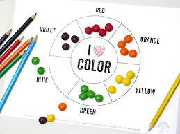 Basic Color Chart For Kids Printable Color Wheel Mr Printables