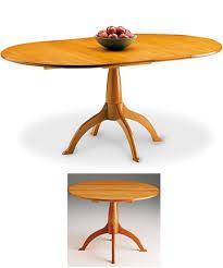 shaker pedestal dining table