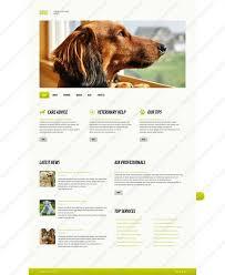 Website Templates Dog Club Pet Animal Shows Custom Website Template