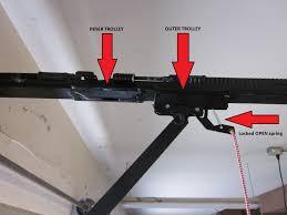 how to fix a garage door openerreengaging a disconnected garage door opener  garage door repair