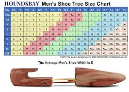 Florsheim Shoe Tree Size Chart Houndsbay Mens Cedar Shoe Tree With Wide Heel 2 Pack Purchase Plants 2 Trees In Usa