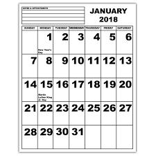 write in calendar 2018 maxiaids large print calendars