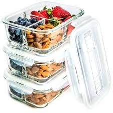 food glass containers 3 pack glass meal prep containers 3 compartment meal prepping uk glass food glass containers