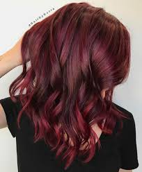 Red Hair To Brown Hair Colour Chart 35 Shades Of Burgundy Hair Color For 2019 Eazy Glam