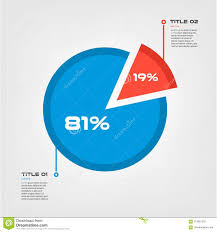 Pie Chart Infographic Design Vector And Marketing Can Be