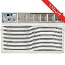 sharp 10000 btu portable air conditioner. 455-312- sharp energy star 110v window-mounted air conditioner w/ remote 10000 btu portable t