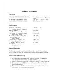 Mca Fresher Resume Format It Cover Letter Sample For Freshers Free