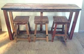 reclaimed wood round kitchen table rustic wood kitchen table modern patio and furniture medium size bar