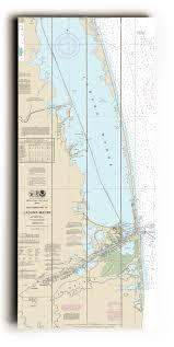 Texas Gulf Coast Water Depth Chart Tx Southern Part Of Laguna Madre Tx Nautical Chart Sign