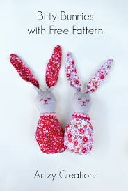 Free Bunny Pattern Template Magnificent Inspiration Design