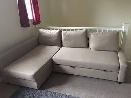 ikea friheten corner sofa bed with storage in beige in coventry in ikea corner
