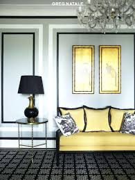 yellow and grey furniture. View In Gallery Yellow And Gray Walls Grey Furniture Hot Color Combo . N