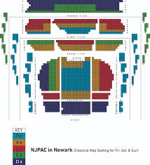 Nj Pac Seating Chart Njpac Seating Chart View Related Keywords Suggestions